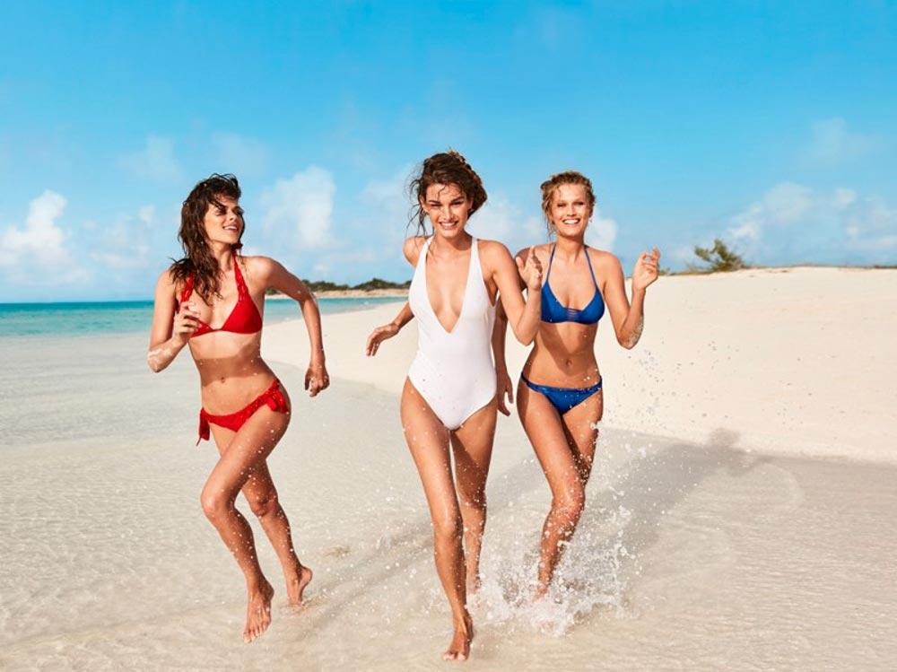 Женщины снимающиеся в рекламе в купальниках — photo 10