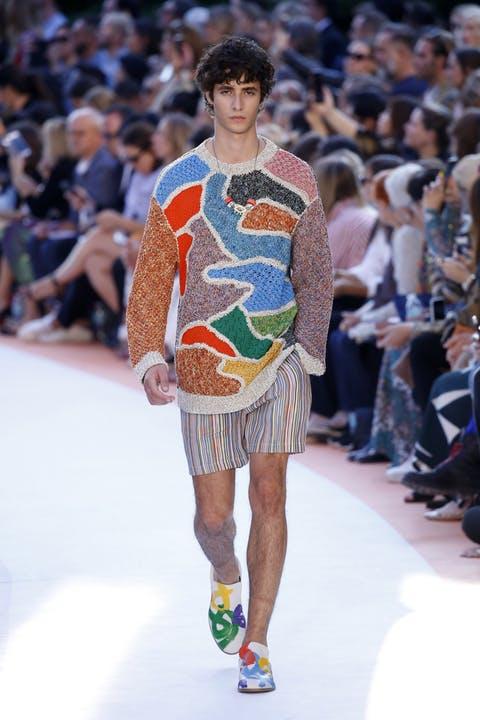 Missoni мужская мода 2018