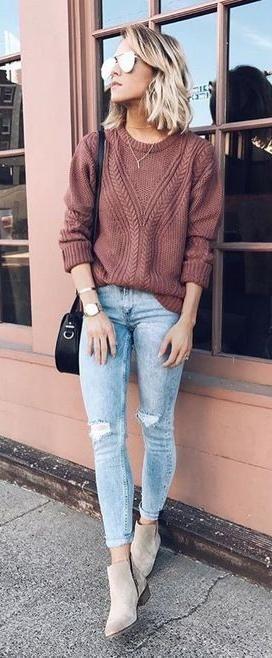 свитер женский фото