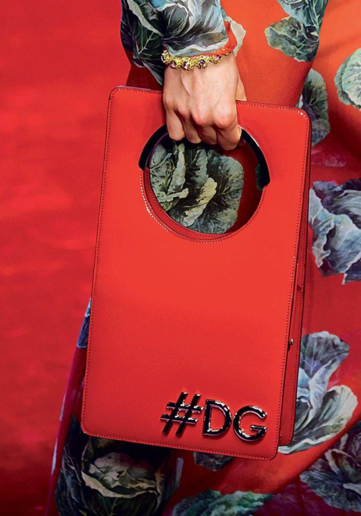 Красная Сумка Dolce & Gabbana