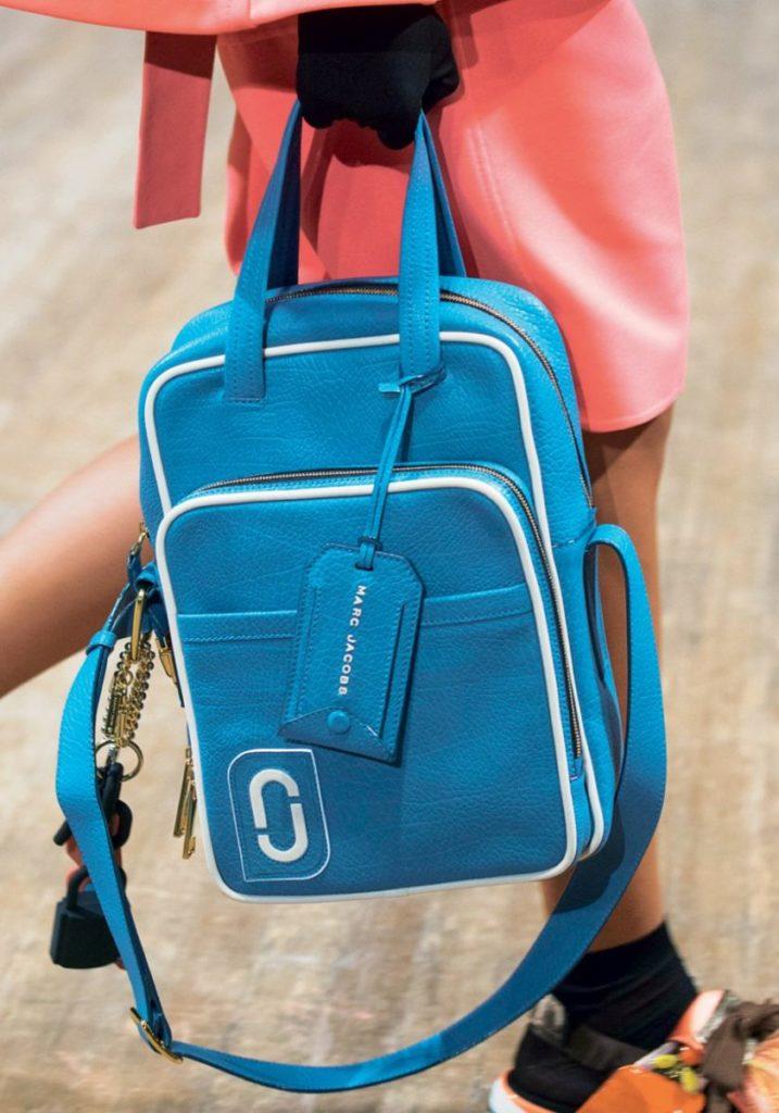 Бирюзовая сумка Marc Jacobs