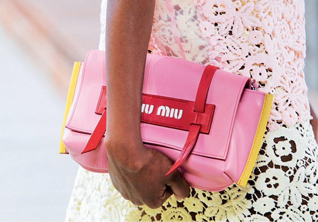 Разноцветная сумка Miu Miu