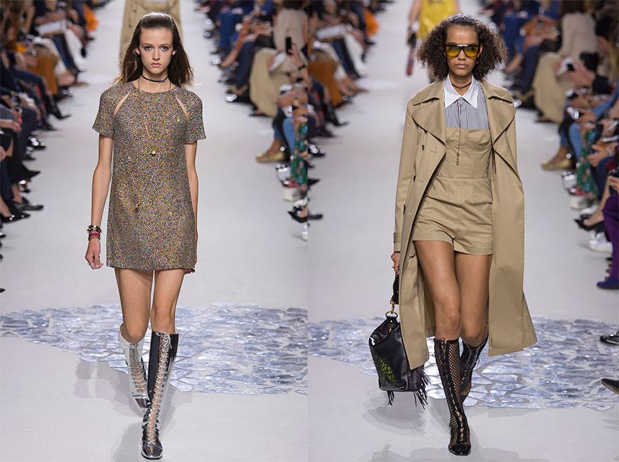 женская коллекция Christian Dior