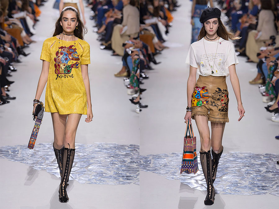 модная коллекция Christian Dior