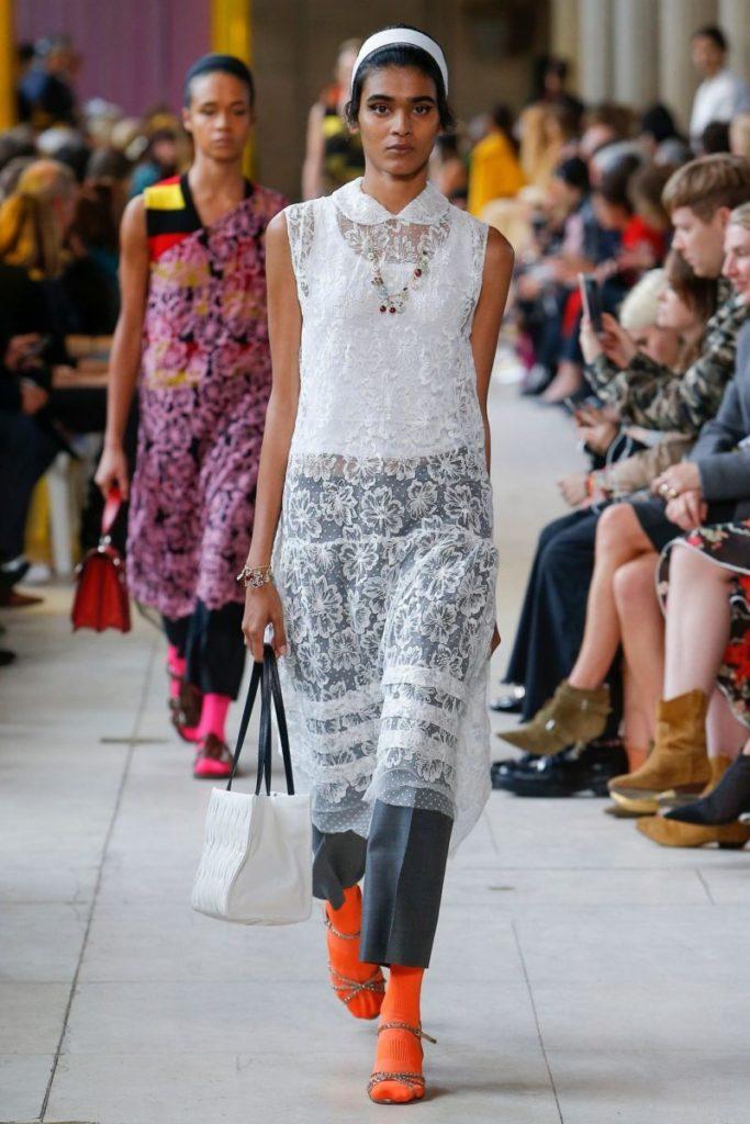 модные луки весна лето 2018