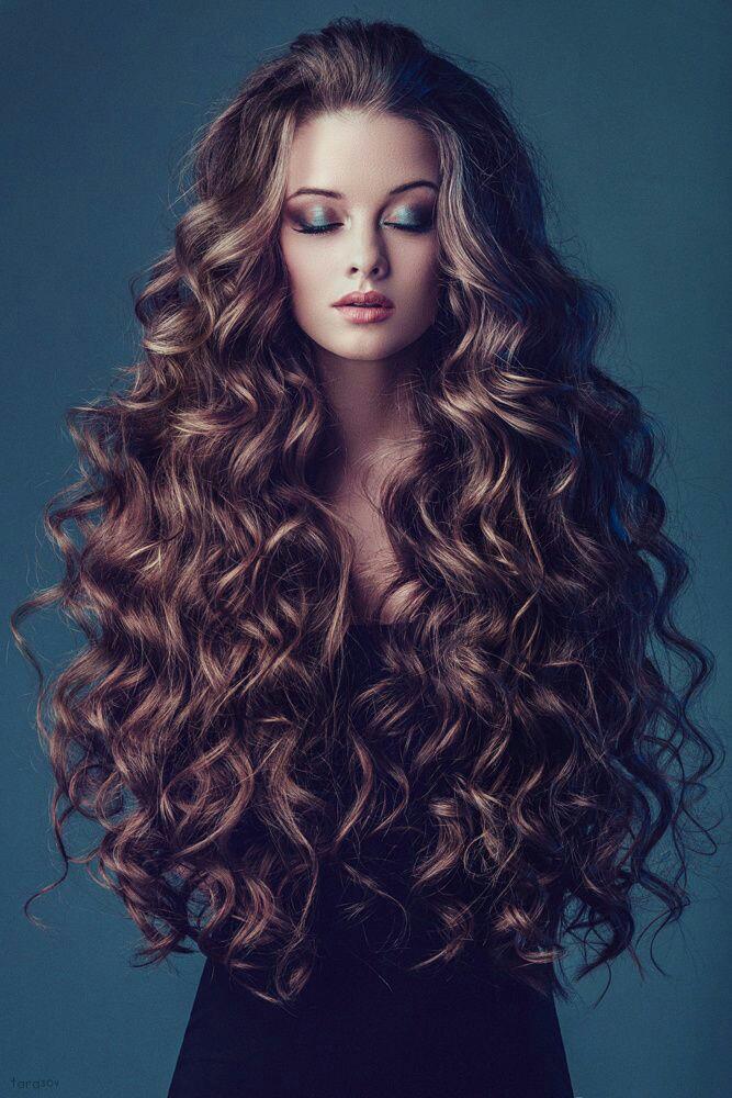 Укладка на очень длинные волосы