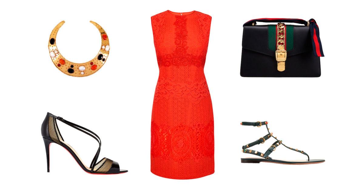 Красное платье на все случаи